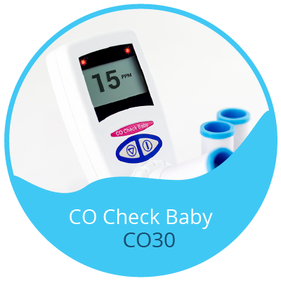 CO Chek Baby - CO Breath Test Monitor