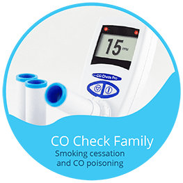 CO Check - Breath Test Monitors