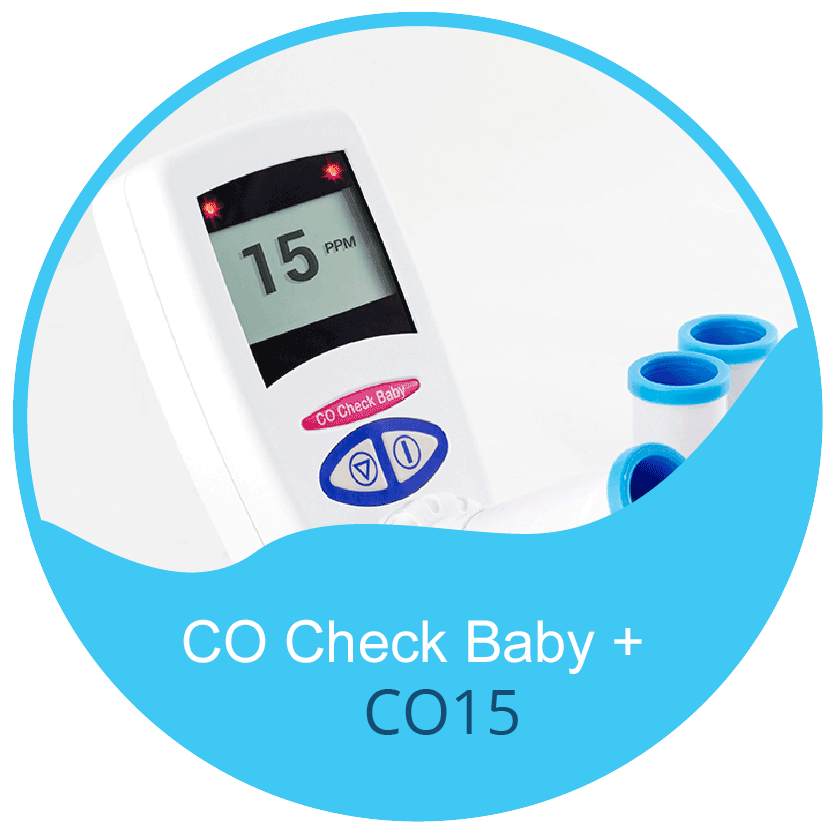 CO Chek Plus Baby - CO Breath Test Monitor