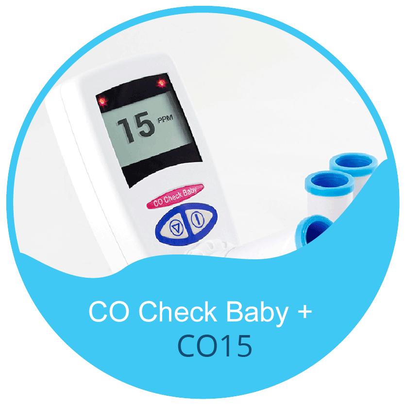 CO Chek Plus Baby - CO Breath Test Monitor