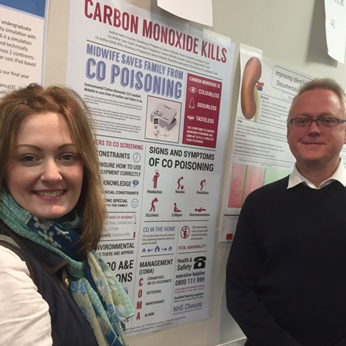 "HEIDI HURLEY AND MARTIN MARSH PRESENTING ""CARBON MONOXIDE KILLS"""