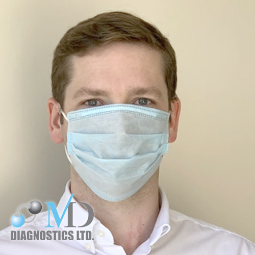 Face Mask- Triple layer Surgical - MD Diagnostics